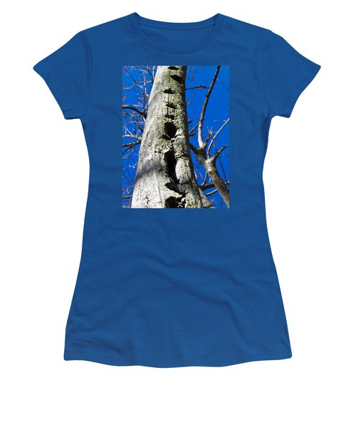 Women's T-Shirt (Junior Cut) featuring the photograph Woody's Paradise by Nick Kirby