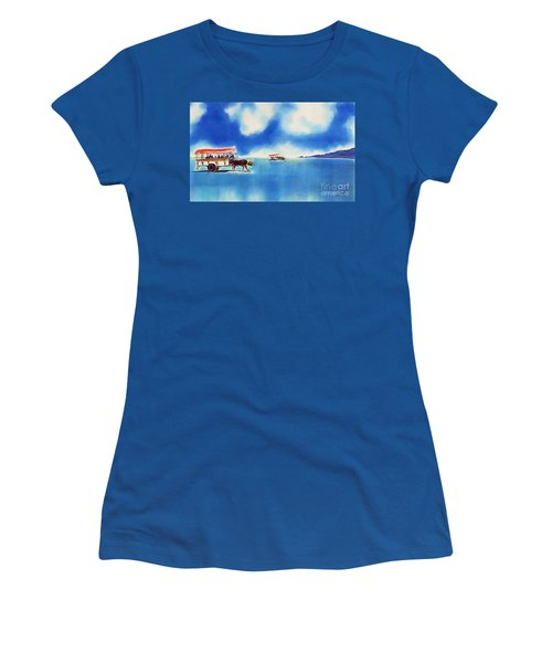 Yubu Island-water Buffalo Taxi  Women's T-Shirt