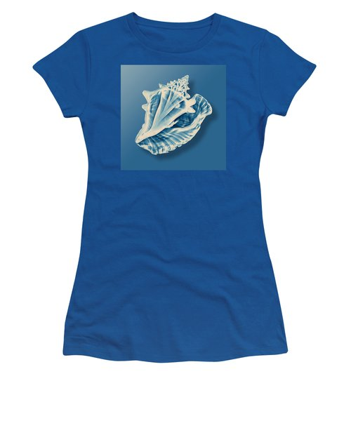 X-ray Of A Conch Shell Women's T-Shirt (Athletic Fit)