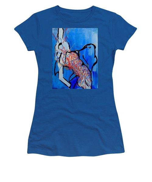 Dinka Corset - Manlual - South Sudan Women's T-Shirt