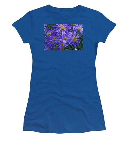Blue Asters Women's T-Shirt