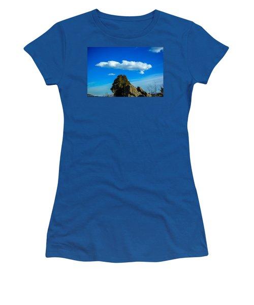 Women's T-Shirt (Junior Cut) featuring the photograph Blue Skies by Shannon Harrington