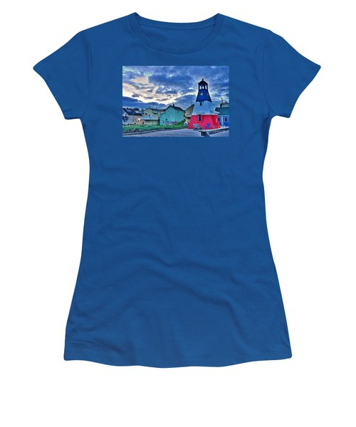 Women's T-Shirt (Junior Cut) featuring the photograph Cheticamp In Cape Breton Nova Scotia by Joe  Ng