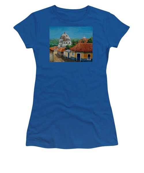 Church Of Pespire In Honduras Women's T-Shirt