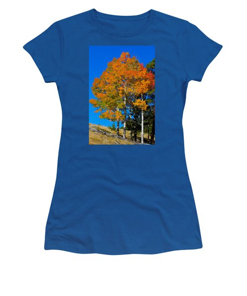Colorado Aspens Women's T-Shirt (Athletic Fit)