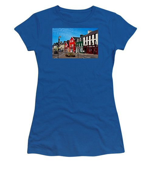 Dingle Bay Color Women's T-Shirt (Athletic Fit)