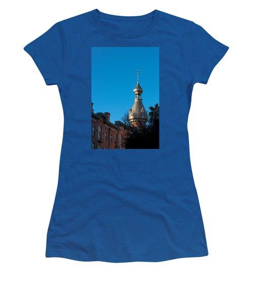 Women's T-Shirt (Junior Cut) featuring the photograph Facade And Minaret by Ed Gleichman