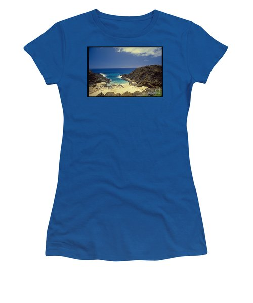 From Here To Eternity Beach Women's T-Shirt (Junior Cut) by Mark Gilman