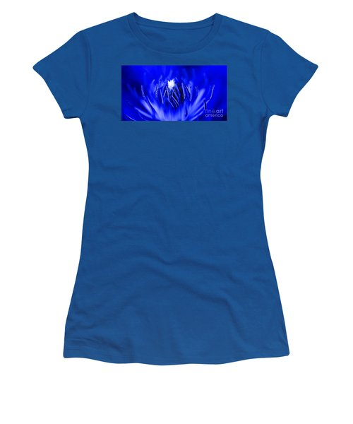 Inside A Flower Women's T-Shirt (Athletic Fit)