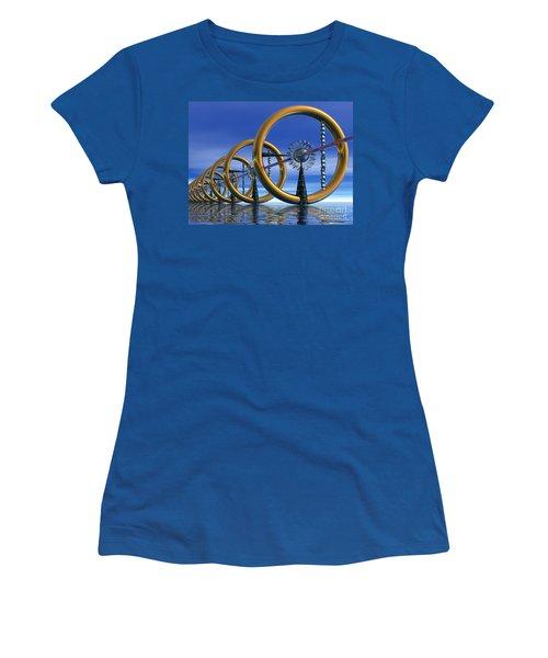 Laser Women's T-Shirt (Athletic Fit)