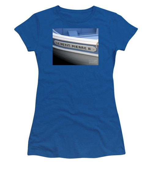 Women's T-Shirt (Junior Cut) featuring the photograph Le Petit Pierre II by Lainie Wrightson