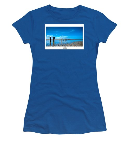 Women's T-Shirt (Junior Cut) featuring the photograph Low Tide by Beverly Cash