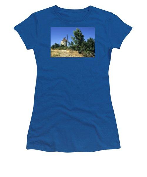 Moulin Of Daudet. Fontvieille. Provence Women's T-Shirt