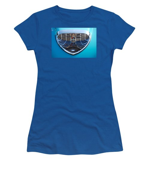 Women's T-Shirt (Junior Cut) featuring the photograph Reflecting Ford by John Schneider
