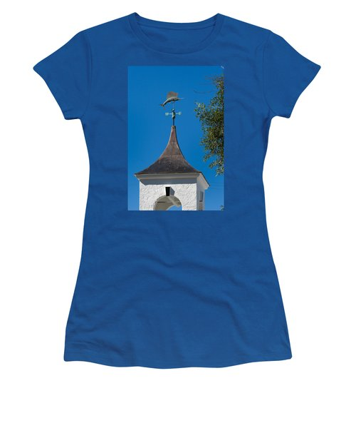 Sailfish Weather Vane At Palm Beach Shores Women's T-Shirt