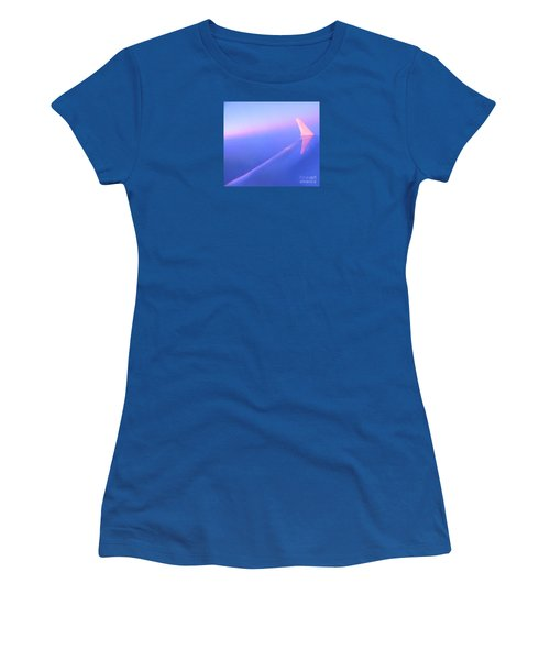 Skybluepink Women's T-Shirt (Athletic Fit)