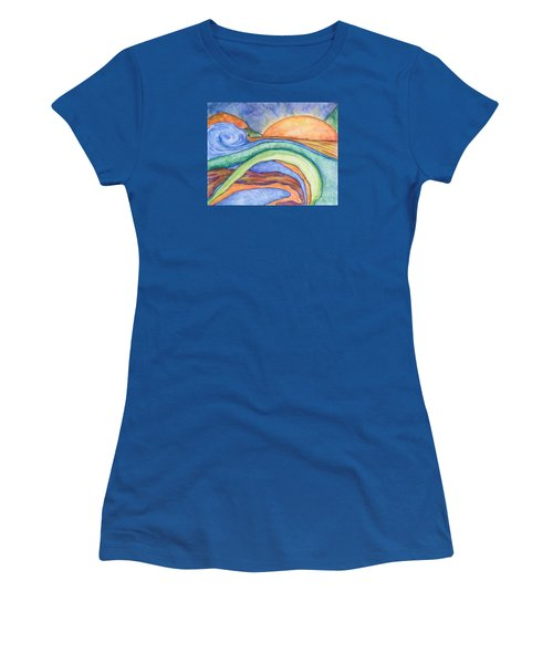 The Sunrise Women's T-Shirt (Athletic Fit)