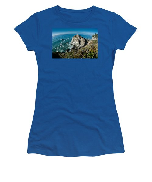 The World Is Round Women's T-Shirt (Athletic Fit)