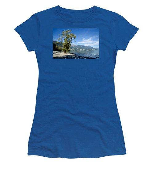 Tree On The Beach Women's T-Shirt