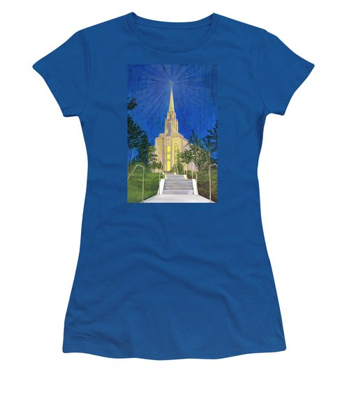 Angel Portal Women's T-Shirt (Junior Cut) by Jane Autry