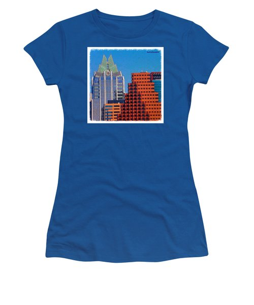Another #gorgeous #bluesky Day In Women's T-Shirt (Athletic Fit)