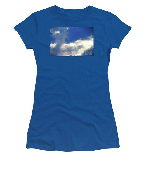 Blue Women's T-Shirt (Junior Cut) by Jesse Ciazza