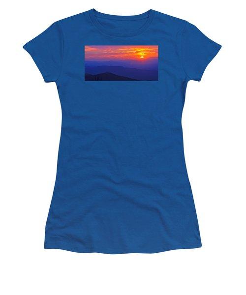 Blue Ridge Parkway Sunset, Va Women's T-Shirt