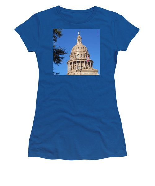 #bluesky And The Best #realestate In Women's T-Shirt