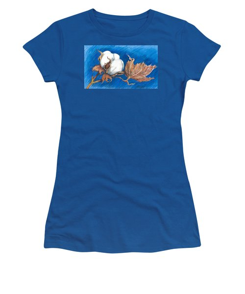 Cotton Picking Blues Women's T-Shirt (Athletic Fit)