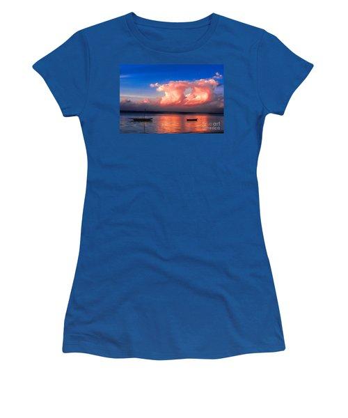 Dawn Women's T-Shirt (Junior Cut) by Pravine Chester