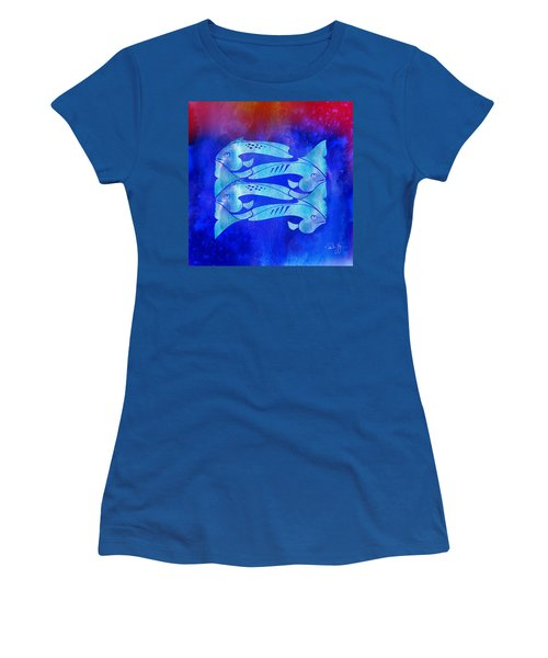 1 Fish 2 Fish Women's T-Shirt (Athletic Fit)