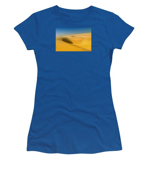 Women's T-Shirt (Athletic Fit) featuring the photograph Khuri Desert by Yew Kwang