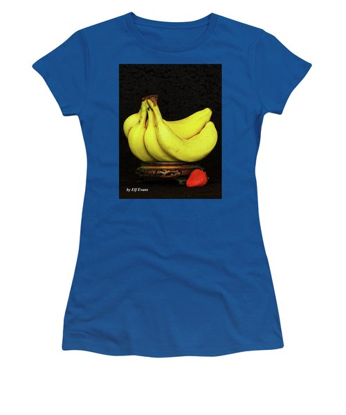Women's T-Shirt (Athletic Fit) featuring the photograph Mellow Yellows And Red by Elf Evans