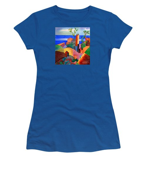 My Dream Vacation Women's T-Shirt (Athletic Fit)