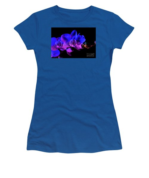 Women's T-Shirt (Junior Cut) featuring the photograph Orchid by Brian Jones