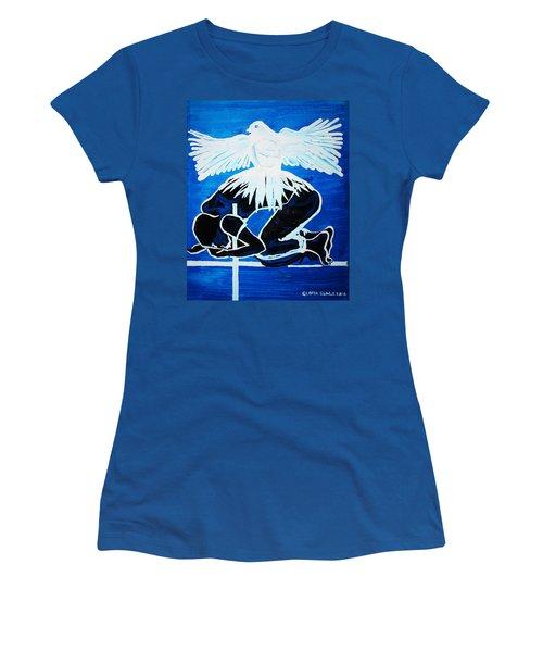 Slain In The Holy Spirit Women's T-Shirt
