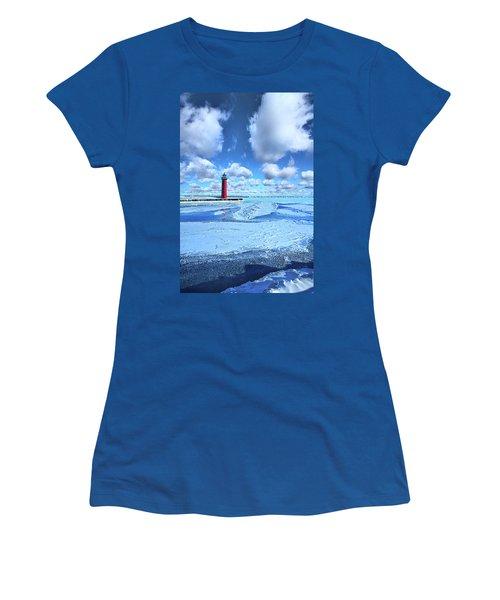 Women's T-Shirt (Junior Cut) featuring the photograph Steadfast by Phil Koch