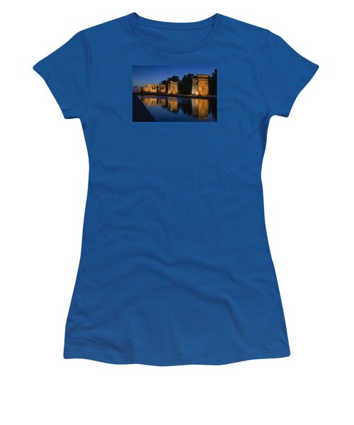 Templo De Debod Women's T-Shirt (Athletic Fit)