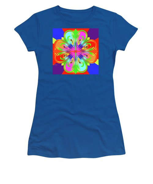 Tribute To Peter Max Women's T-Shirt (Athletic Fit)