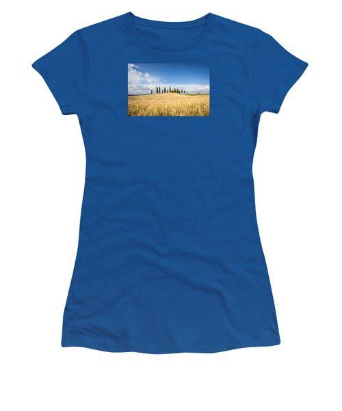 Tuscan Villa Women's T-Shirt (Athletic Fit)