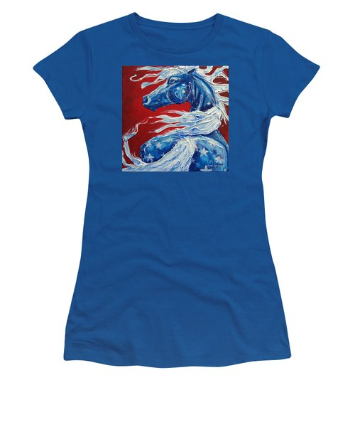 #14 July 4th Women's T-Shirt (Athletic Fit)
