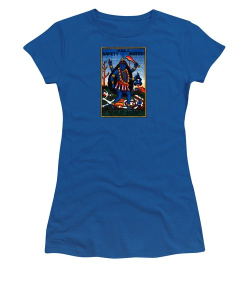 1920 Hindu Goddess Kali Women's T-Shirt (Athletic Fit)