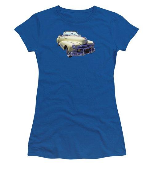 1948 Pontiac Silver Streak Convertible Women's T-Shirt