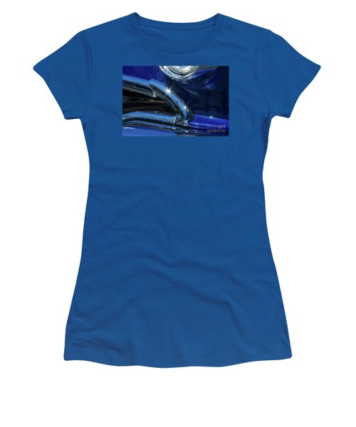 1956 Pontiac Chieftain Headlight And Grill 1 Women's T-Shirt