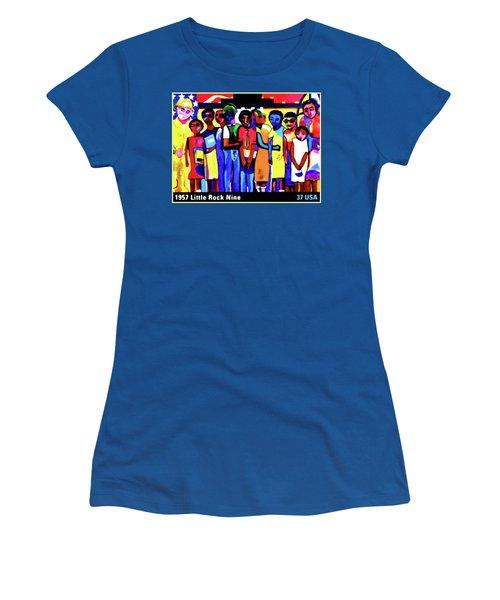 1957 Little Rock Nine Women's T-Shirt (Athletic Fit)