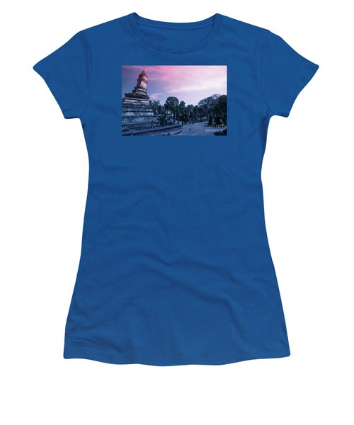 Artistic Of Chedi Women's T-Shirt (Junior Cut) by Atiketta Sangasaeng