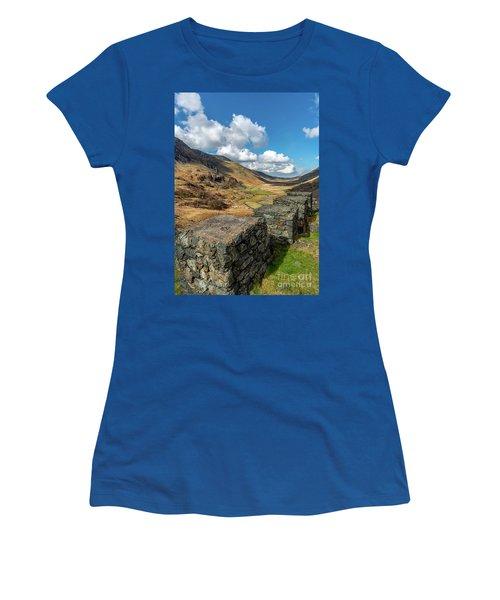Nant Ffrancon Pass Snowdonia Women's T-Shirt