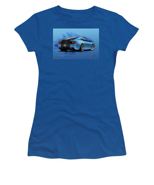 2014 Stang Rear Women's T-Shirt