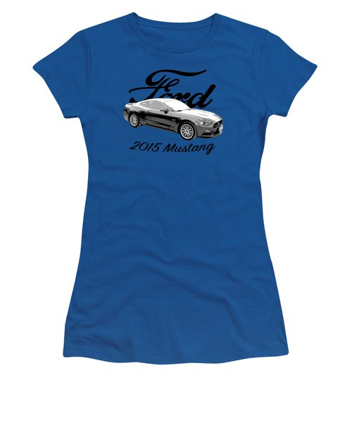 2015 Ford Mustang Women's T-Shirt