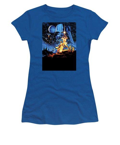 Star Wars Episode Iv - A New Hope 1977 Women's T-Shirt